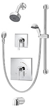 Symmons 3606-H321-V Duro¬ Tub/Shower System