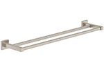 "Symmons 363DTB-24-STN Duro Towel Bar, 24"", Double"