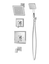 Symmons 4206 Oxford (R) Tub/Shower System