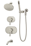 Symmons 4306-STN Sereno Tub/Shower System