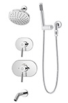 Symmons 4306 Sereno¬ Tub/Shower System