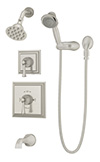 Symmons 4506-STN Canterbury Tub/Shower System
