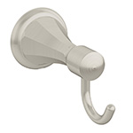 Symmons 453RH-STN Canterbury Robe Hook, Octagon