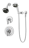 Symmons 4705 Allura Shower/Hand Shower Unit
