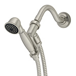 Symmons 512HSA-STN - Winslet Single Mode Hand Shower with Shower Arm, Satin Nickel