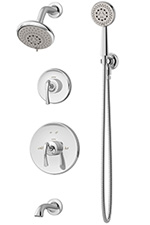 Symmons 5206 Ballina (R) Tub/Shower Unit