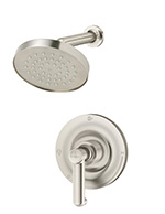 Symmons® 5301-STN Museo Single Handle Pressure Balancing Shower Valve, Satin Nickel