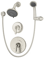 Symmons 5505-STN Elm Shower/Hand Shower Unit