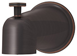 Symmons 552TSD-SBZ Elm Diverter Tub Spout