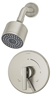 Symmons S-3501-CYL-B-STN Dia Shower System