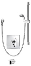 Symmons S-3604-H321-V Duro Tub/Hand Shower Unit