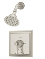 Symmons® - S-4501-STN - Canterbury™ Shower System with Built-In Volume Control - Satin Nickel